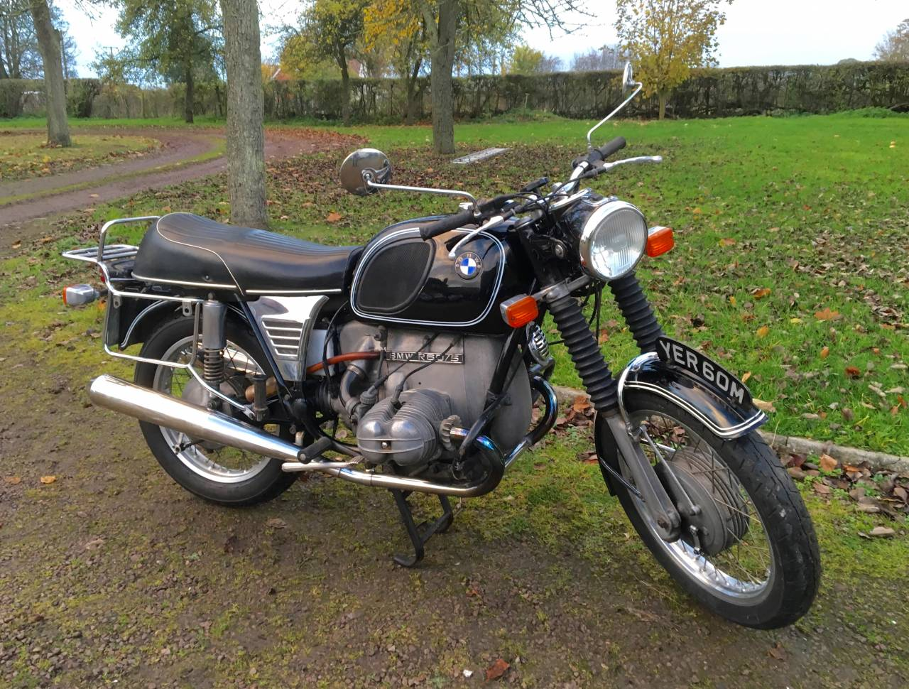 1973 bmw r60 5 we sell classic bikes. Black Bedroom Furniture Sets. Home Design Ideas