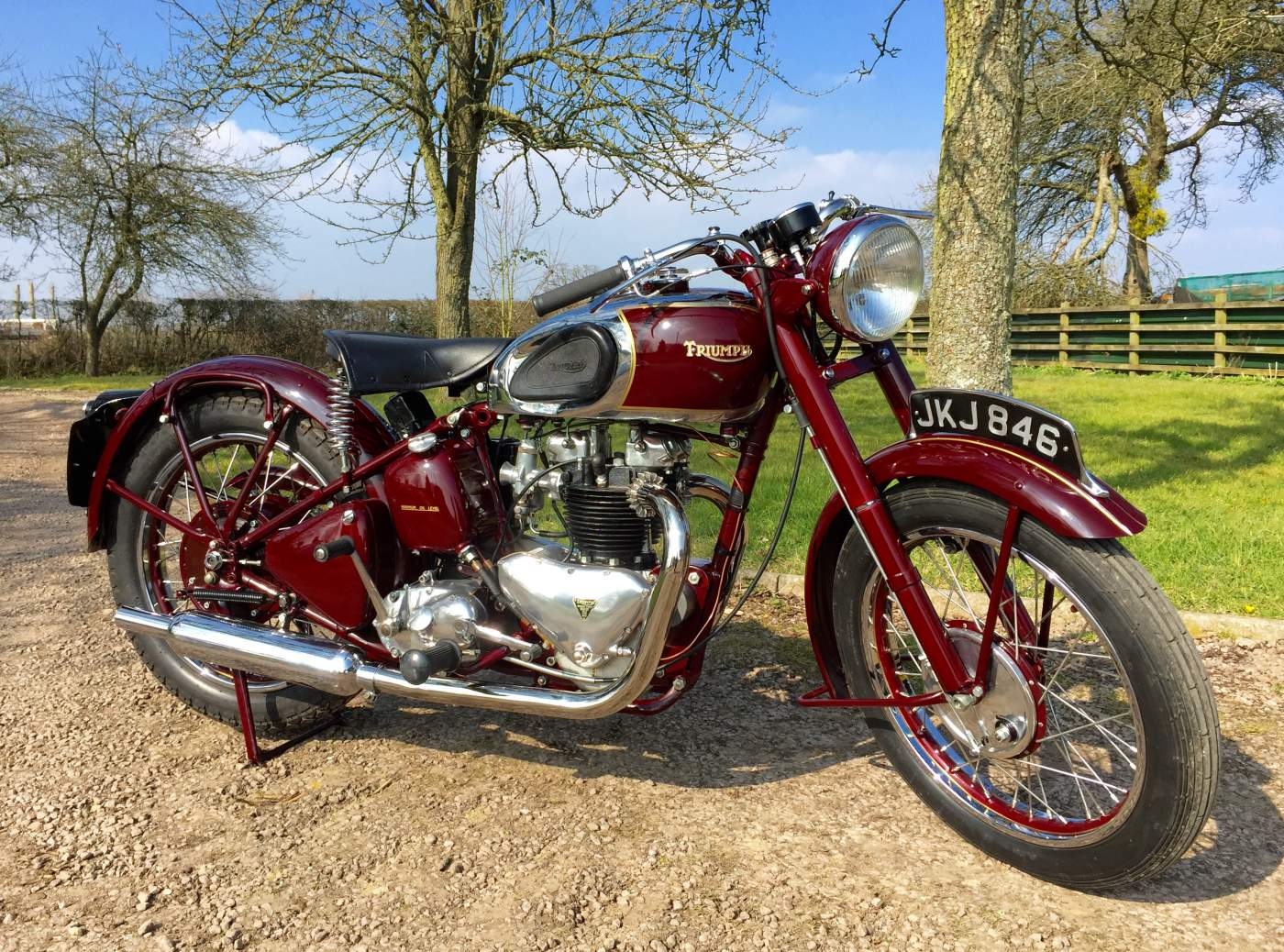 1947 Triumph Speed Twin We Sell Classic Bikes