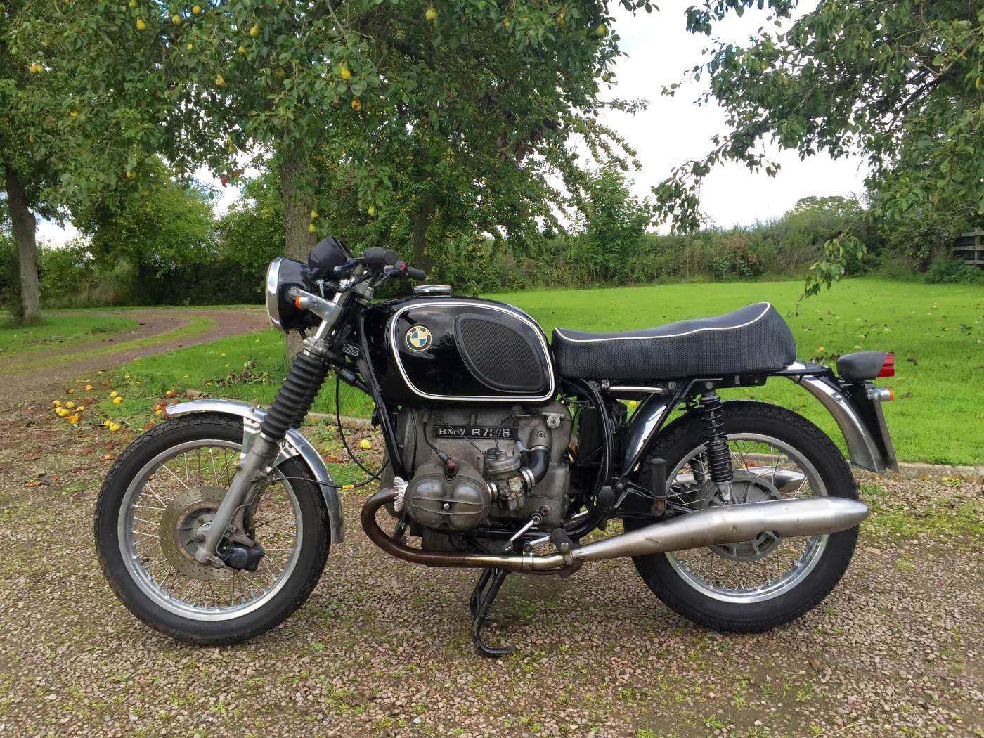 1976 bmw r75 6 we sell classic bikes. Black Bedroom Furniture Sets. Home Design Ideas