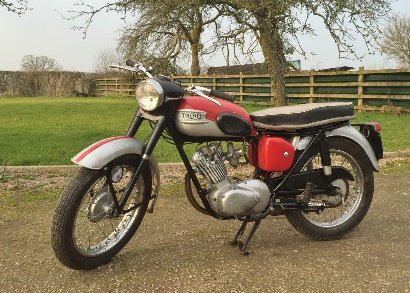 Triumph Frame and Engine numbers