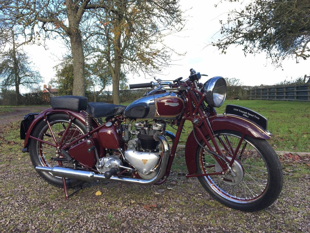 1939 Triumph Speed Twin 5t